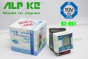 MÁY ĐO HUYẾT ÁP CỔ TAY ALPK2 K2-051-Japan